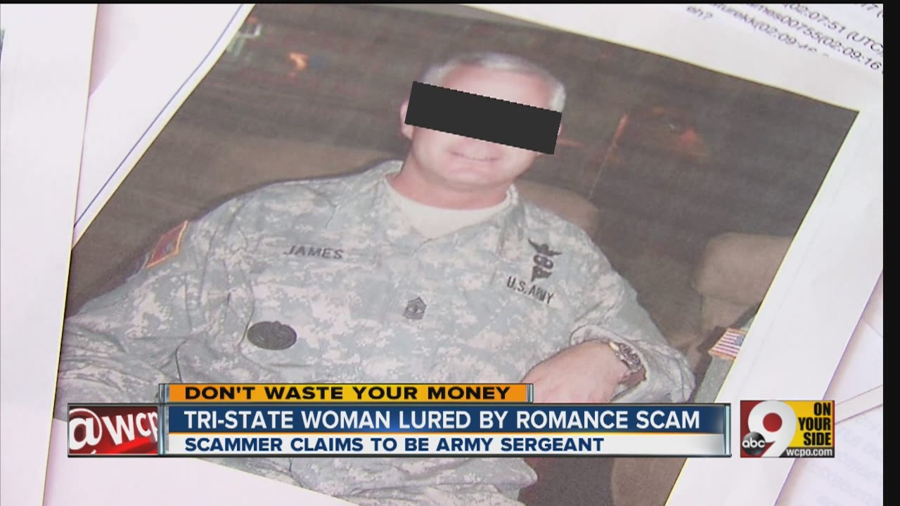 Online dating military scams