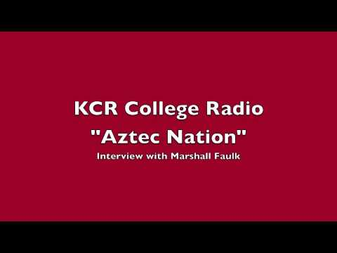 """Aztec Nation"" on KCR College Radio: Marshall Faulk Interview"