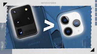5 điều tự tin camera Galaxy S20 Ultra đánh bại Apple!