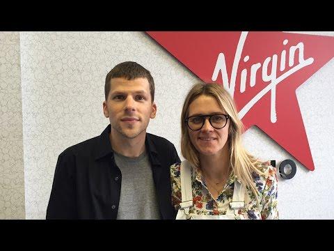 Jesse Eisenberg Chats To Edith Bowman On Virgin Radio