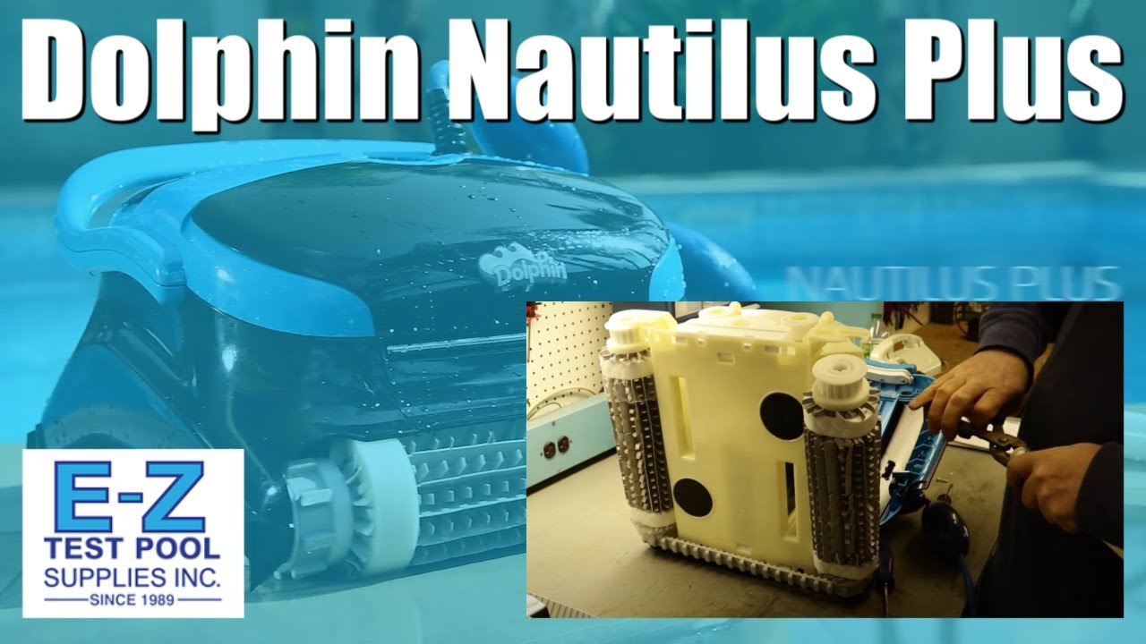 nautilus plus pool cleaner by dolphin how to fix u0026 repair - Dolphin Pool Cleaner