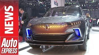 Ssangyong E-Siv Concept Previews Electrified 2019 Korando Featuring Autonomous Tech