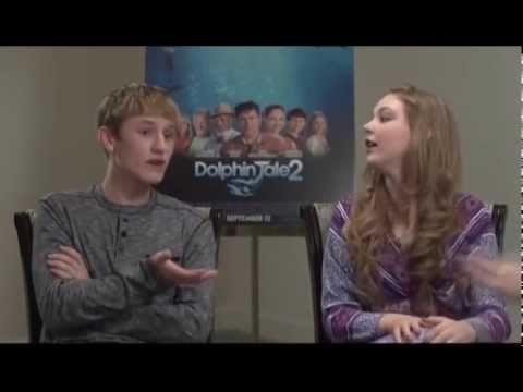 """""""Dolphin Tale 2"""" Interview with Nathan Gamble and Cozi Zuehlsdorff"""