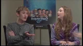 """Dolphin Tale 2"" Interview with Nathan Gamble and Cozi Zuehlsdorff"