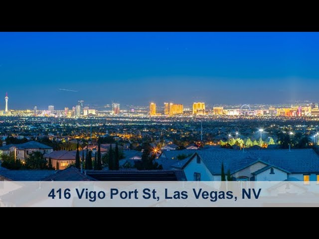416 Vigo Port St, Las Vegas, NV 89138 - 360 degree view from the rooftop deck!