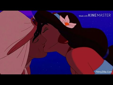 Alladin And Jasmine Kisses All In Hindi