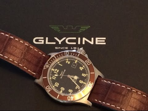 Glycine Combat Sub Affordabe Quality Swiss Made Dive Watch