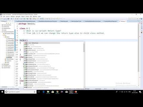 Core Java Interview Question - What is Co Variant ReturnType in Java.