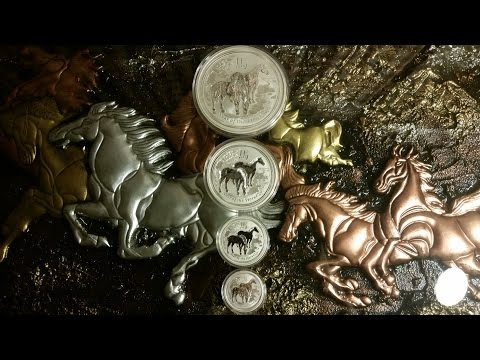 Silver Lunar Series Horse Pyramid Project! Part 2!