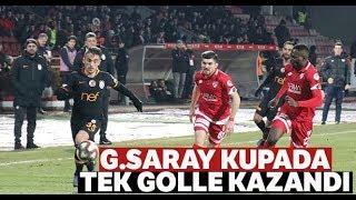 Cimbom Avantajı Kaptı I Boluspor:0 - Galatasaray: 1