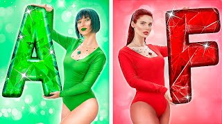 Emerald Girl vs Ruby Girl! How to Become Popular in College!
