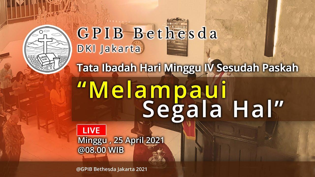Ibadah Hari Minggu IV Sesudah Paskah (25 April 2021)