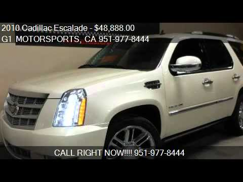 2010 cadillac escalade awd platinum for sale in. Black Bedroom Furniture Sets. Home Design Ideas