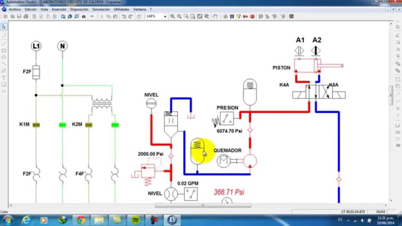 Maquinas Termicas  Sistema El U00c9ctrico De Caldera