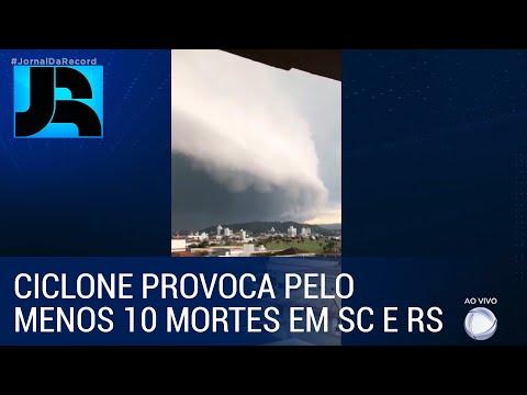 Ciclone extratropical provoca