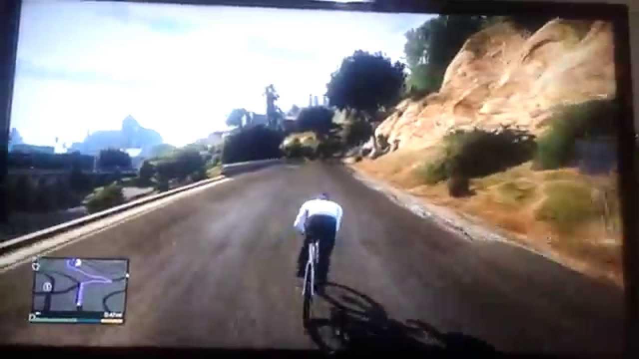 Gta5 Bisiklet Surme Youtube