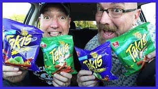 Takis Fuego & Crunchy Fajita NEW IN CANADA with Special Guest Paul
