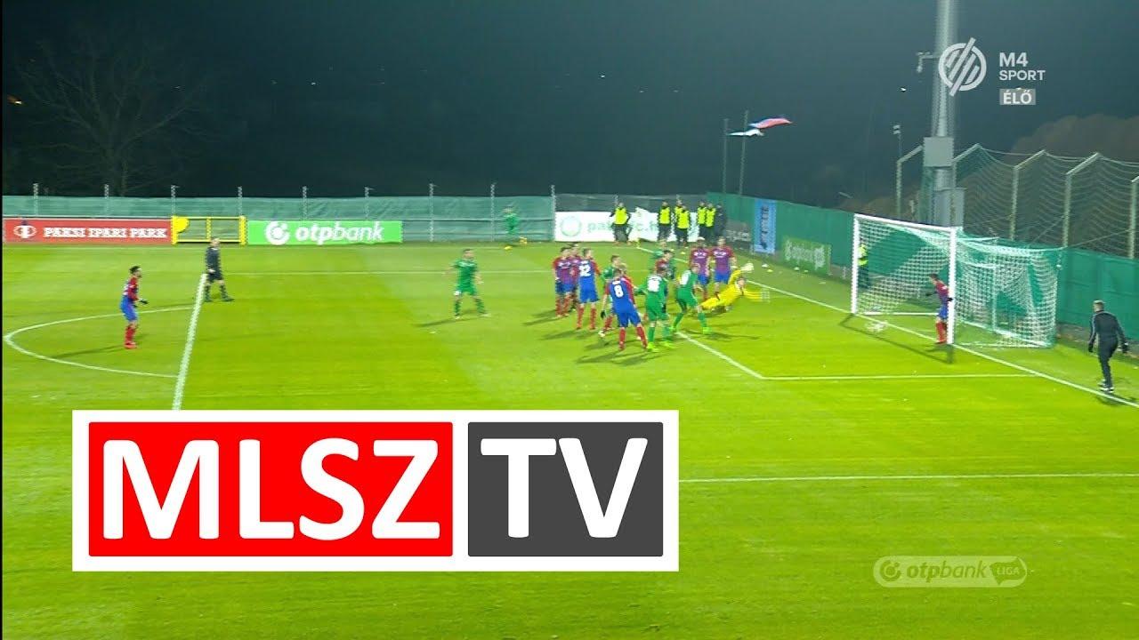Szabó János gólja a Paksi FC - Vasas FC mérkőzésen