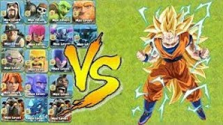 New Goku Hero vs all Defense - Incredible Gameplay - Clash Of Clans