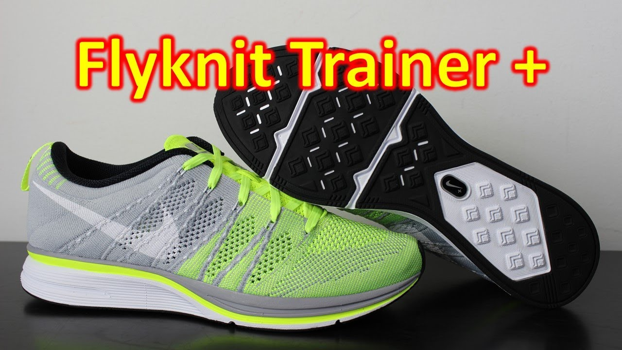 low priced abcc0 79b8f Nike FlyKnit Trainer+ Volt - Review + On Feet - YouTube