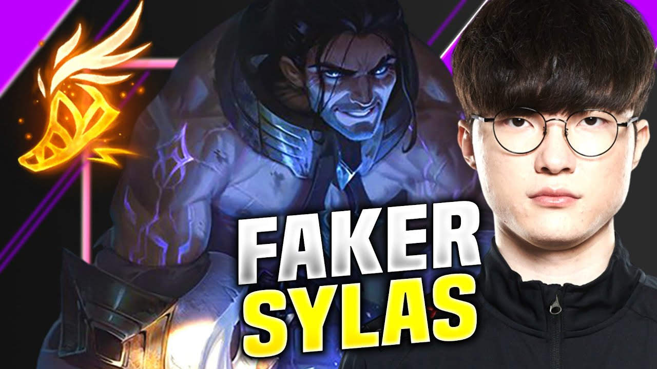 Faker PERFECT GAME With Sylas! - T1 Faker Plays Sylas vs Rumble Mid! | KR SoloQ Patch 10.16