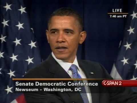 President Obama Q&A with Senate Democrats