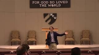 Dr. Jeremy Barrier - Catcher in the Rye MDIV Chapel