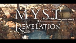 We started Myst IV Revelation!!