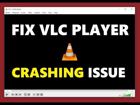 How to Fix VLC Player Crashing Issue | Ooops VLC Media Player just Crashed  Solution