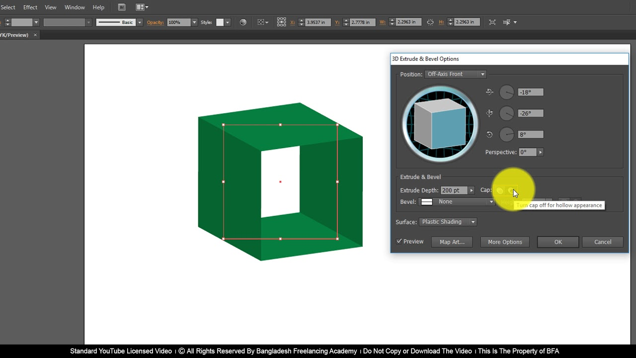 Ai Class 23 How to apply 3D