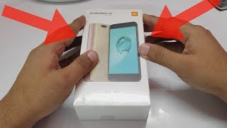 Xiaomi Mi A1 (Rose Gold) - Indian Retail Unit - Unboxing In Hindi