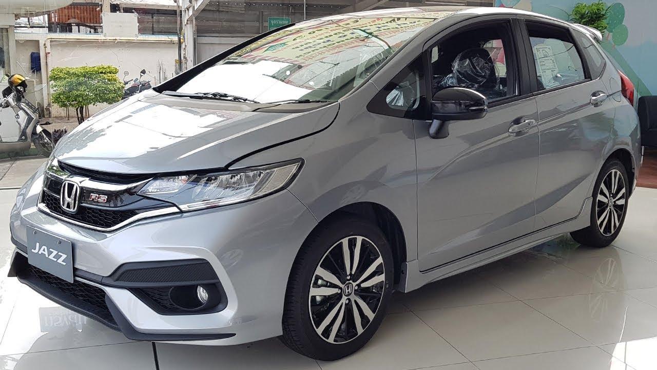Honda Jazz 2018 รุ่น 1.5 RS+ CVT ราคา 754,000 บาท - YouTube