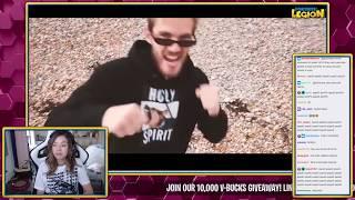 Pokimane Reacts to 'PewDiePie T Series DISS TRACK'! Pokimane Funny Moments
