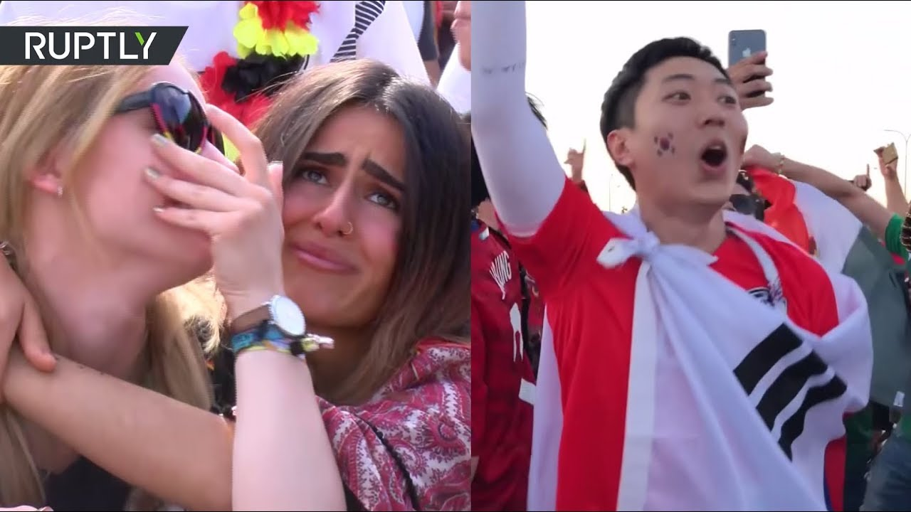 Южнокорейцы ликуют, немцы плачут: реакция болельщиков на невыход своих сборных в плей-офф ЧМ-2018