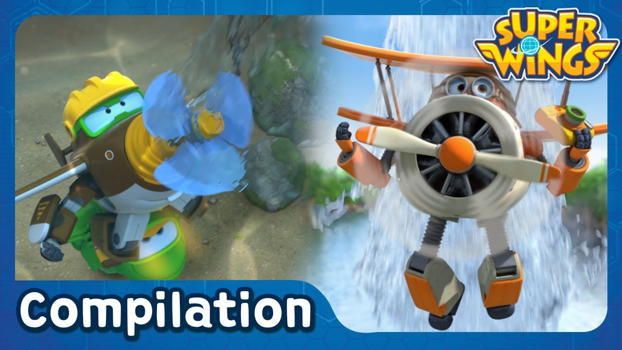 [Superwings s2 Highlight Compilation] EP41 ~ EP45