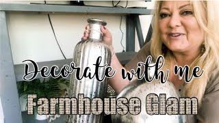 Decorate With Me || Farmhouse Glam