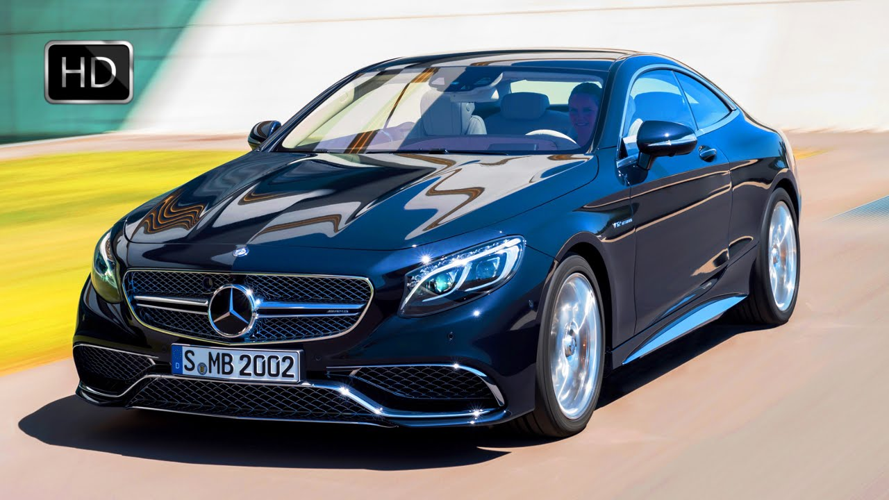 Mercedes S Amg Coupe Biturbo Luxury Sport Sedan Hd