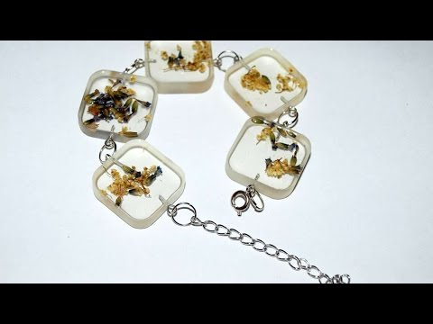How To Make A Glass Like Resin Bracelet - DIY Style Tutorial - Guidecentral