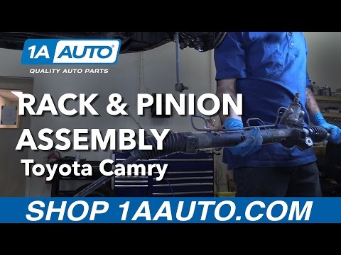 How to Replace Install Rack and Pinion Assembly 92-01 Toyota Camry