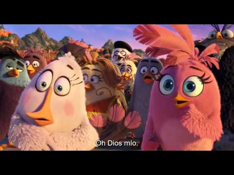 The Angry Birds - Trailer Subtitulado adaptaciones de videojuegos más taquilleras