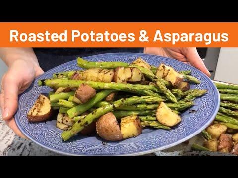 Roasted Potatoes & Asparagus