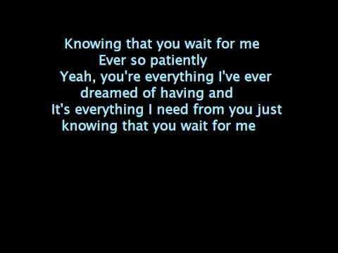 theory of a deadman-wait for me lyrics on screen.wmv