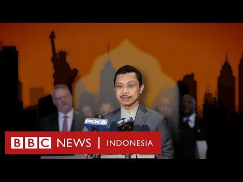 Usai serangan 11 September: Imam Indonesia di AS yang dimaki dan dipeluk - BBC News Indonesia