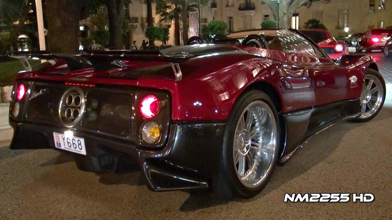 pagani zonda s roadster amazing sound! - youtube