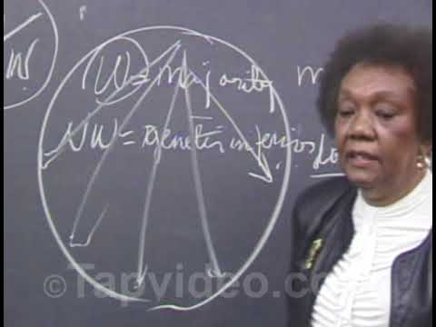Dr  Frances Cress Welsing Freedom from psychological slavery Awakening from the African Dream