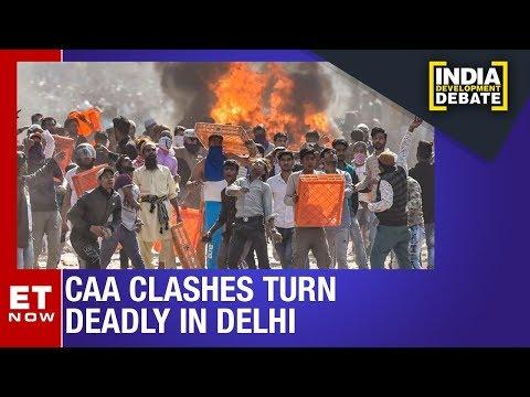Fresh Anti CAA Protests In Maujpur Delhi | India Development Debate
