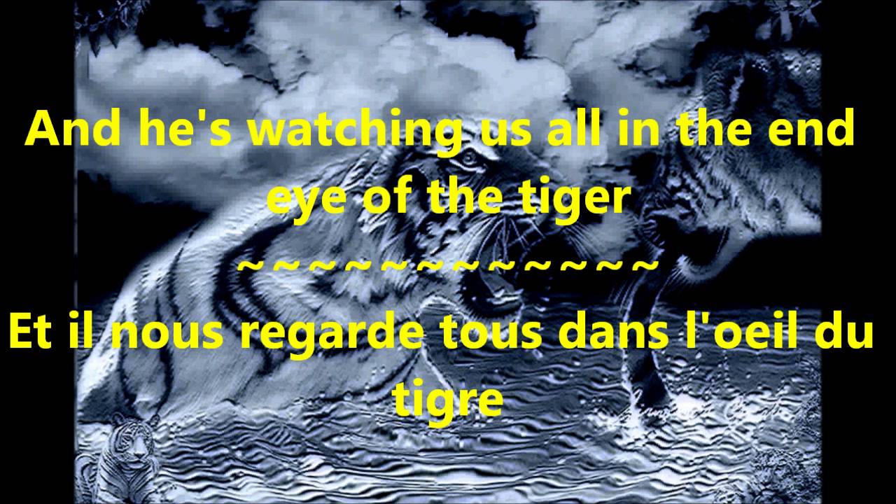 survivor eye of the tiger paroles et traduction youtube. Black Bedroom Furniture Sets. Home Design Ideas