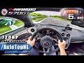 McLaren 570 GT 720HP AUTOBAHN POV 324 km/h PP Performance by AutoTopNL