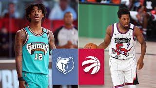 Memphis Grizzlies vs. Toronto Raptors [FULL HIGHLIGHTS]   2019-20 NBA Highlights