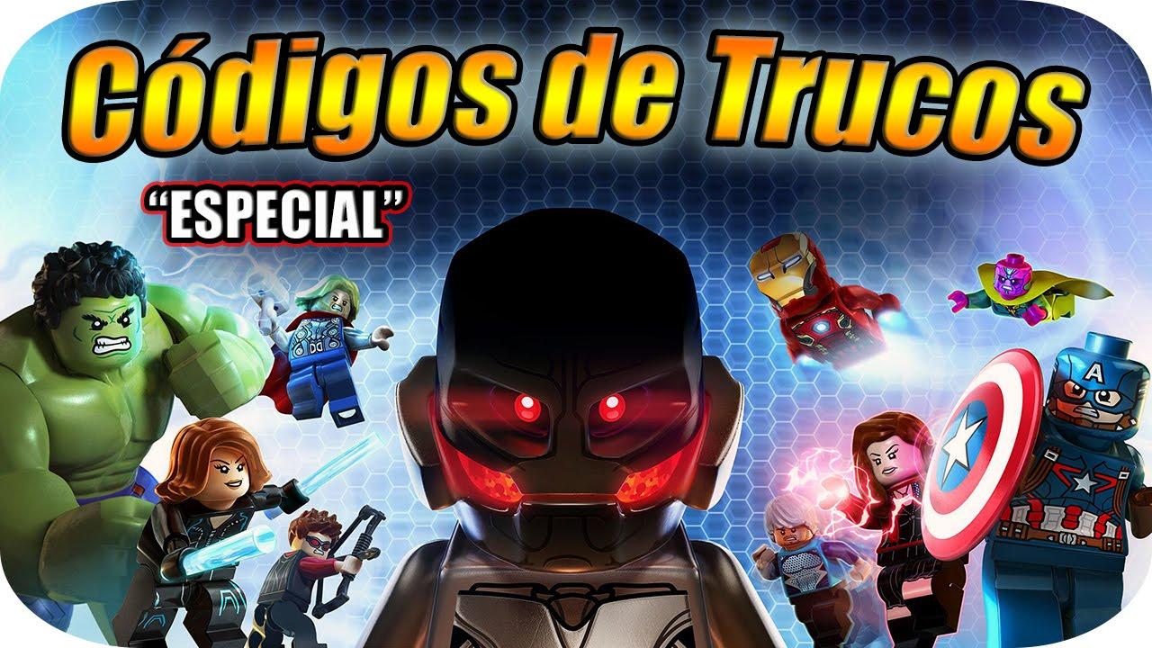 LEGO MARVEL VENGADORES - CÓDIGOS DE TRUCOS [ESPECIAL] - YouTube